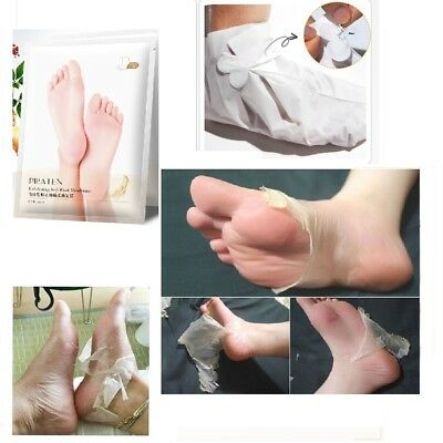 Exfoliating Peel Renewal Foot Mask Baby Soft Feet Remove Hard Dead Skin Cuticles