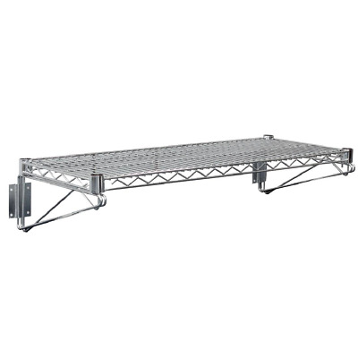 Vogue Wire Wall Shelf Commercial Kitchen Heavy Duty Shelving 610 910 or 1220mm