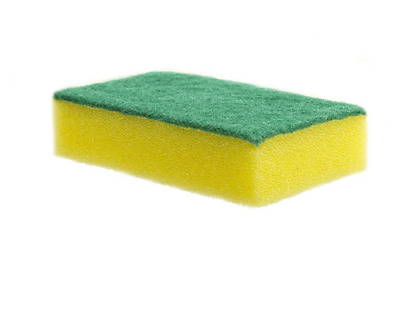 Large Professional Sponge Scourer Heavy Duty Scouring Pads Washing Up Cleaning