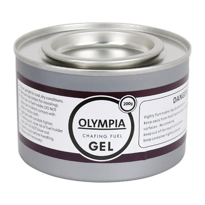 12X Gel Chafing Fuel Tins 2 Hour Burning Commercial Buffet Restaurant Olympia