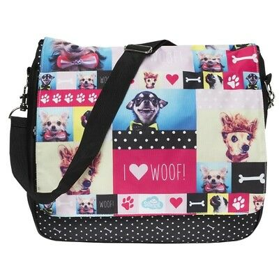 NEW messenger sports gym school dance sleepover travel dog bag kids girl