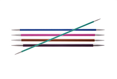 Knitter's Pride ZING 6 inch (15 cm) Double Point Knitting Needles