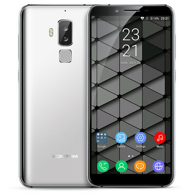 "5.7"" HOMTOM S8 4G HD Téléphone 4+64Go Android7.0 Octa-Core 16MP 2*SIM Smartphone"