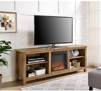 Walker Edison Furniture Company Wood Media Tv Stand Console
