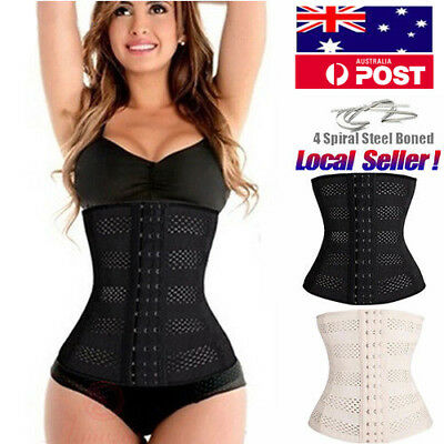 Long Torso Waist Trainer Corset Cincher Body Shaper Belt Workout Shapewer ISabc