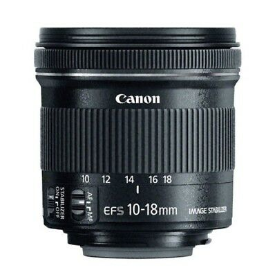 Canon EF-S 10-18mm f/4.5-5.6 IS STM New Lens