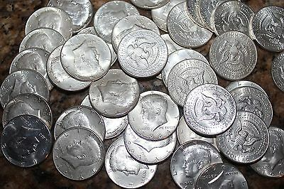 1964 US Kennedy Half Dollars 90% Silver EIGHT