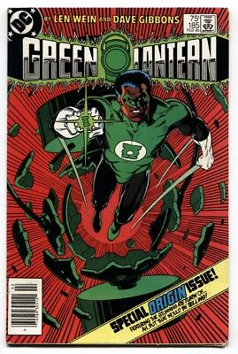 Green Lantern #185-Origin Issue-High Grade-Vf