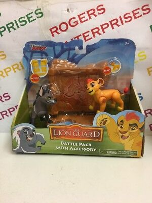 Disney The Lion Guard Battle Pack with Break Away Wall NEW