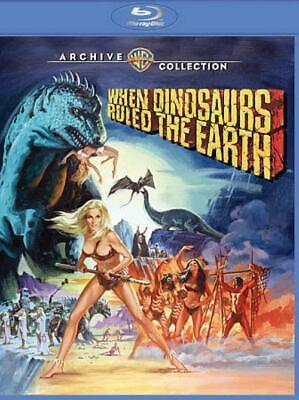 When Dinosaurs Ruled The Earth New Region 1 Blu-Ray Disc