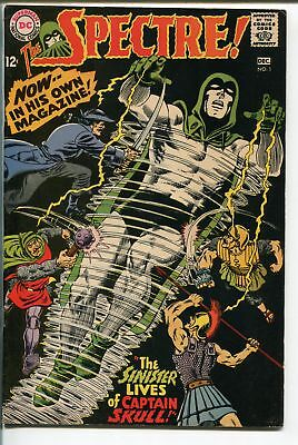 SPECTRE  #1 1967-DC-BLACK COVER-MURPHY ANDERSON-fn/vf