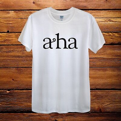 A-HA Vintage Indie Duran Take On Me Top Design T-Shirt Men Unisex Women Fitted