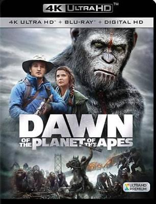 Dawn Of The Planet Of The Apes(4K Ultra Hd) New 4K Ultra Hd Blu-Ray