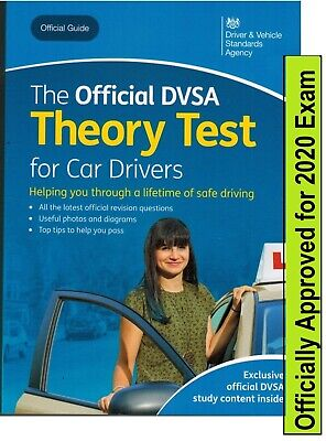 Theory Test Car Drivers Book for 2019 Official DVSA Driving Tests UK  crThrBk