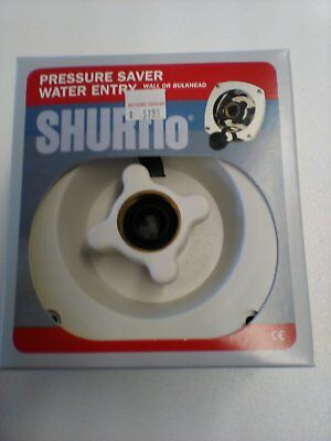 -Chrome Wall Mount SHURFLO 183-029-14 Pressure Reducing City Water Entry