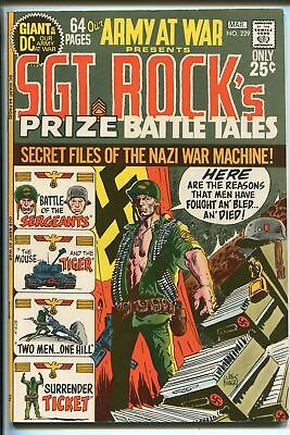 OUR ARMY AT WAR #229 1971-DC-SGT ROCK'S PRIZE BATTLE TALES- GIANT ISSUE--vf/nm