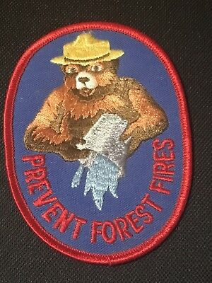 Smokey The Bear Prevent Forest Fires Patch