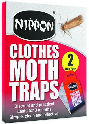 Vitax Nippon Clothes Moth Traps Pack Of 2