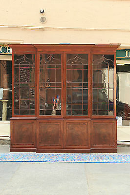 Fantastic Bookcase English Wooden Mahogany, First Half' From'800 / Bookcase