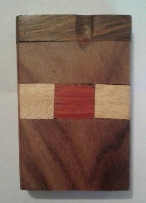 """3"""" Wooden Dugout Carved Wood - 1 pc.with 1 Free bat *** BUY 1, GET 1 FREE ***"""