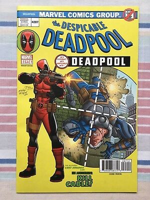 The Despicable Deadpool #287 Variant • NM • Amazing Spider-Man #129 Homage Cover