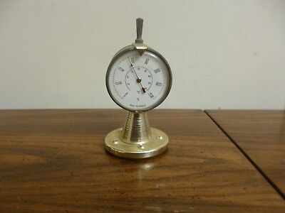 """NAUTICAL THERMOMETER TELEGRAPH MCM Ship's Engine Telegraph 4"""" MADE IN FRANCE"""