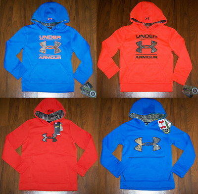 UNDER ARMOUR Boys HOODIE SWEATER Size 6 & 14-16 ( YXS/TP/EP & YLG/G ) New