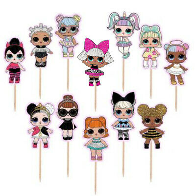 LOL DOLL SURPRISE Balloons Latex Foil Party Supply Decoration BIrthday