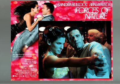 Forces Of Nature-1998-Ben Affleck-Sandra Bullock-Comedy-Romance-Lobby Card Nm