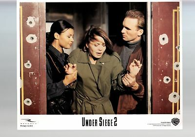 Under Siege 2-Brenda Bakke-Afifi Alaouie-Peter Greene-11x14-Color-Lobby Card