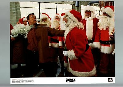 Jingle Alll The Way-1996-Lobby Card-Fn/vf-Comedy-Christmas-Schwarzenegger Fn/vf