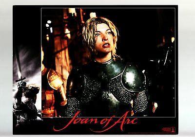 Joan Of Arc-1999-Lobby Card-Fn/vf-Drama-Bio-Milla Jovovich Fn/vf