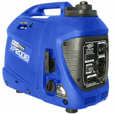 DuroMax XP1200iS Generator Inverter Gas Powered 1200w 55cc 9.75 Hour Run Time