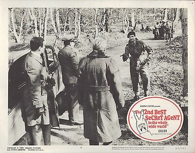 2nd Best Secret Agent in the Whole Wide World 1965 11x14 Lobby Card #4
