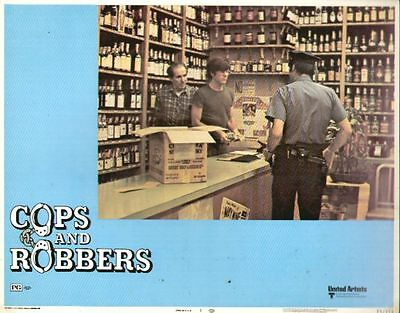 Cops and Robbers 11x14 Lobby Card #1