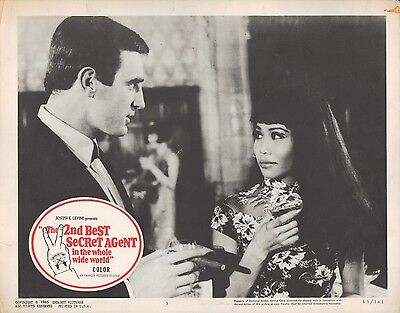 2nd Best Secret Agent in the Whole Wide World 1965 11x14 Lobby Card #3