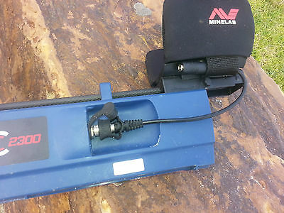 Phase Technical - Adaptor Lead for Minelab SDC 2300