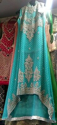 Pakistani stonework shalwar Kameez long dress
