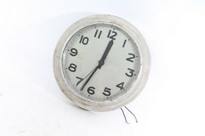 Beautiful Old Wall Clock with Cable Watch Old Vintage