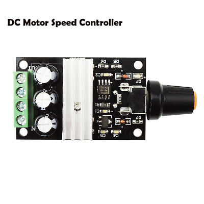 DC6V/12V/24V/28V 3A PWM Variable Potentiometer Switch Motor Speed Controller