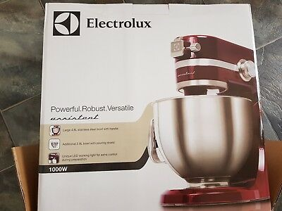 NEW Electrolux Assistent Red Stand Kitchen Mixer EKM4000R