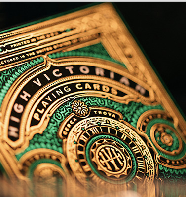 High Victorian Playing Cards by theory11 from Murphy's Magic