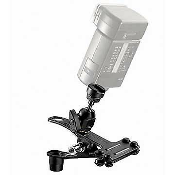 Manfrotto 175F-1 Spring Clamp w/ Flash Shoe 175F