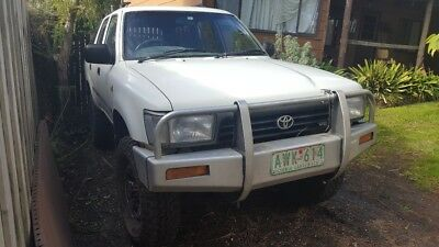 1995 Toyota 4runner Complete less engine and trans VZN130R