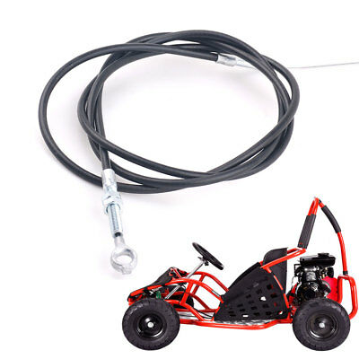"""61/"""" Long 53/"""" Casing Throttle Cable Wire For Manco 8252 ASW Go Kart Buggy Cart"""