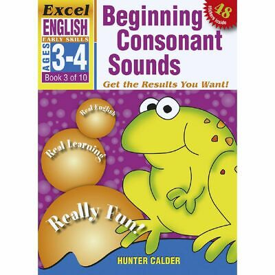 Excel Early Skills English Book 3 Consonant