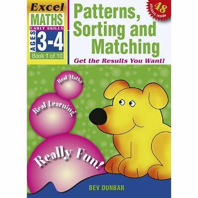 Excel Early Skills Maths Book 1 Patterns