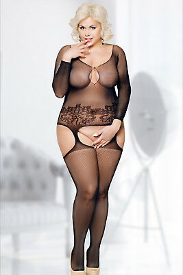 Softline Plus-Size Damen Bodystocking