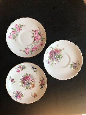 Fine Bone China Replacement Saucers Hammersley & Co England