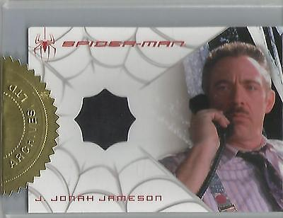 "Spider-man 3 - TIE VARIANT ""J.Jonah Jameson"" Case Topper Costume Card"